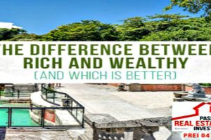 The Difference Between Rich and Wealthy (and Which is Better) | PREI 047