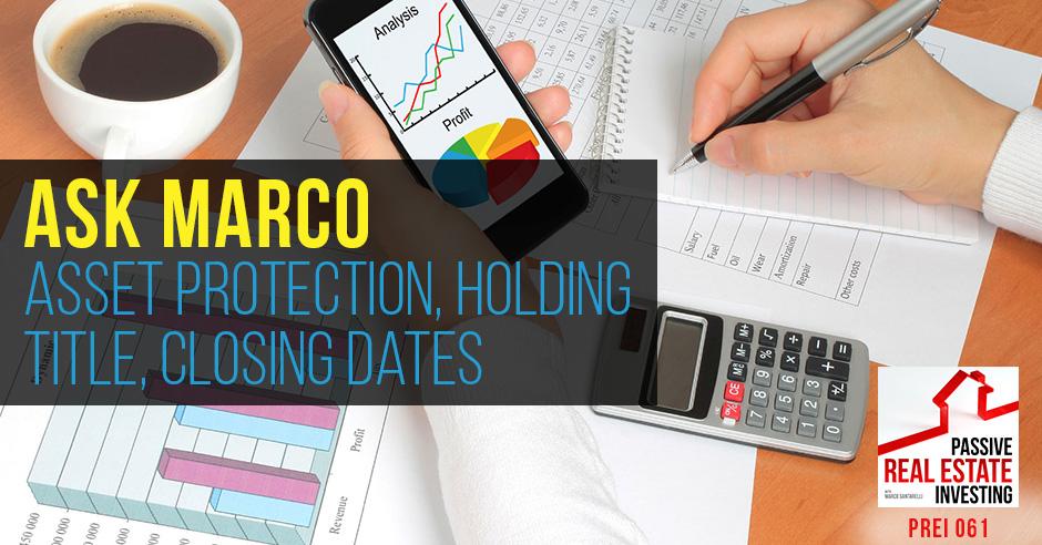 PREI 61 | Asset Protection