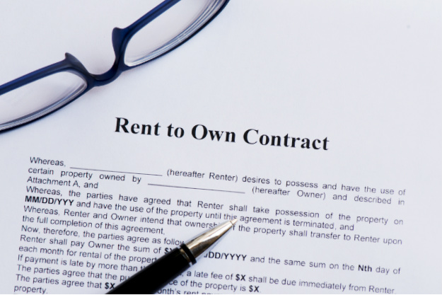 rent to own contracts templates